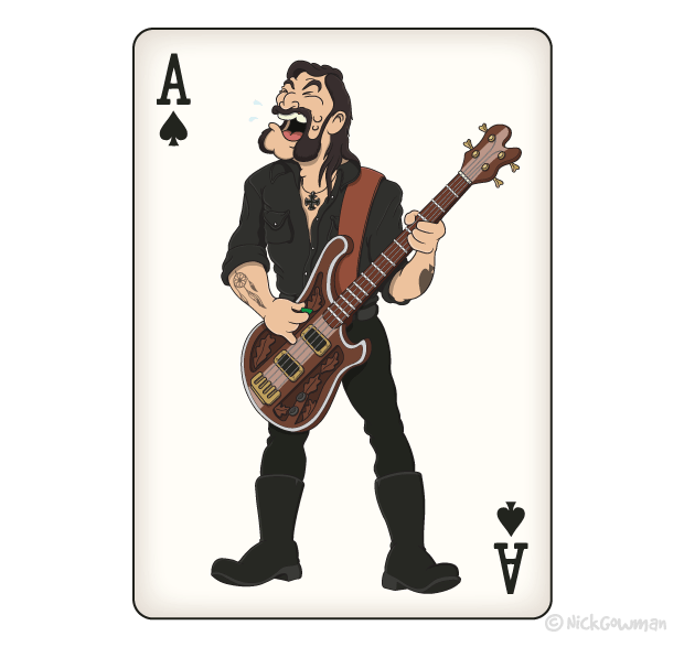 Lemmy Motorhead Cartoon