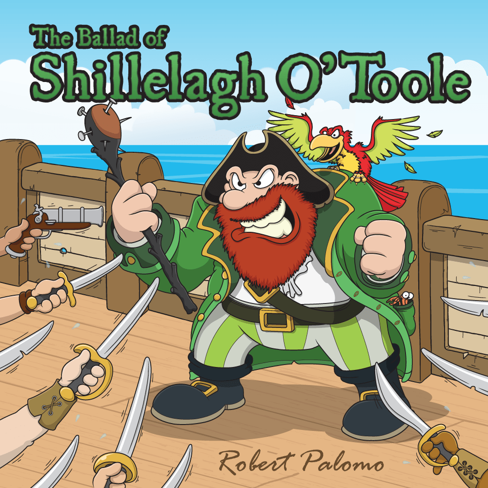 Pirate Folk Song Shillelagh O'Toole