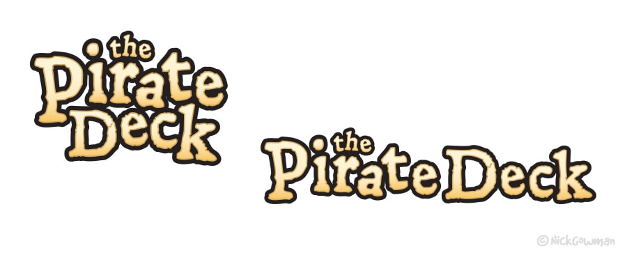 Pirate Lettering