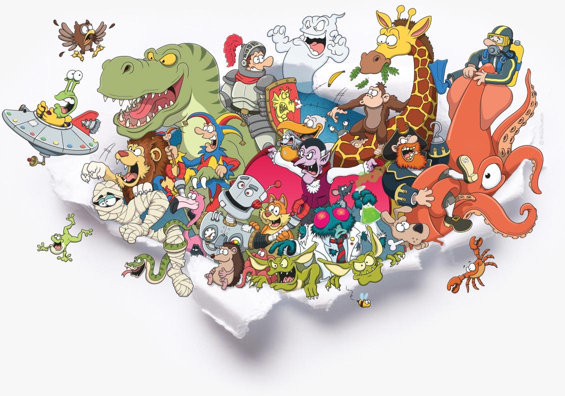 cartoon illustrator