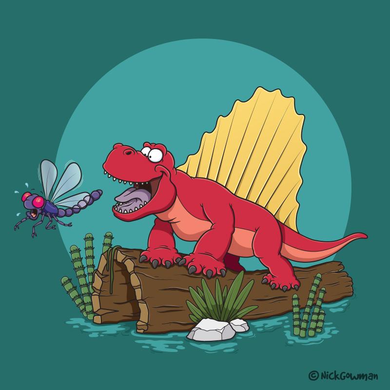 Ianthasaurus cartoon dinosaur