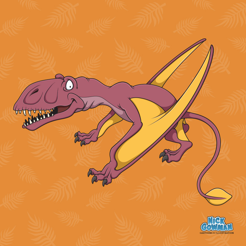 Cartoon Dimorphodon