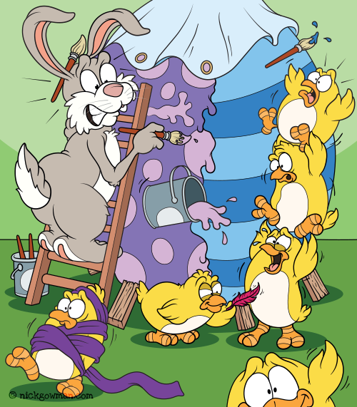 Funny Easter Cartoon